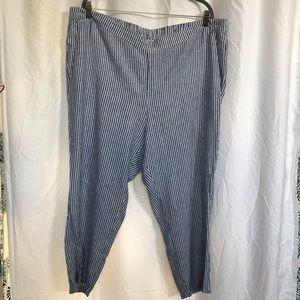 Ankle length elastic waist Old Navy pants